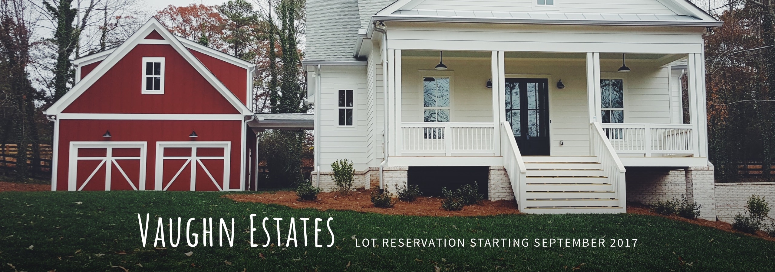 Vaughn Estates — Lot Reservations Starting September 2017